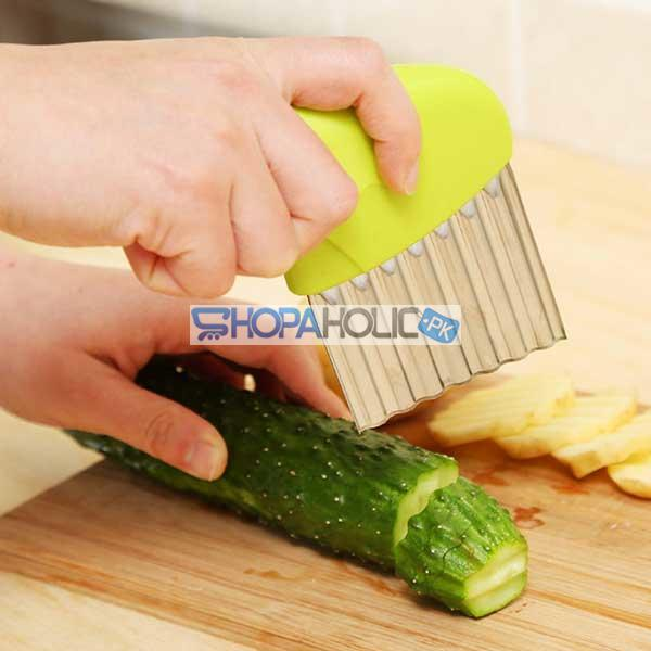 (One Dollar Deal) Vegetable, Fruit, French Fry Crinkle Cutter