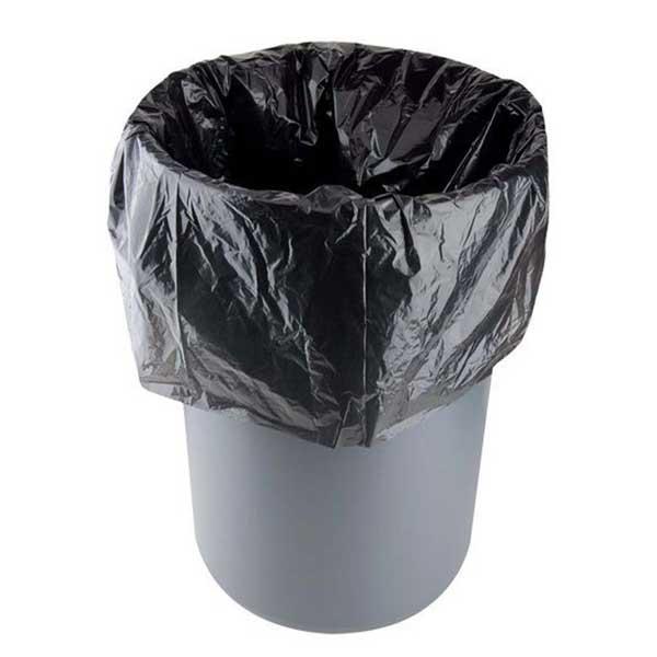 (One Dollar Deal) 30 Pcs Black Garbage Bag Roll (Size: 18x24)