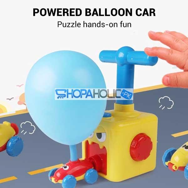 Power Balloon Car Toy for Children Gift