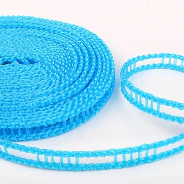 (One Dollar Deal) 5 Meters Windproof Anti-Slip Clothesline Nylon Rope