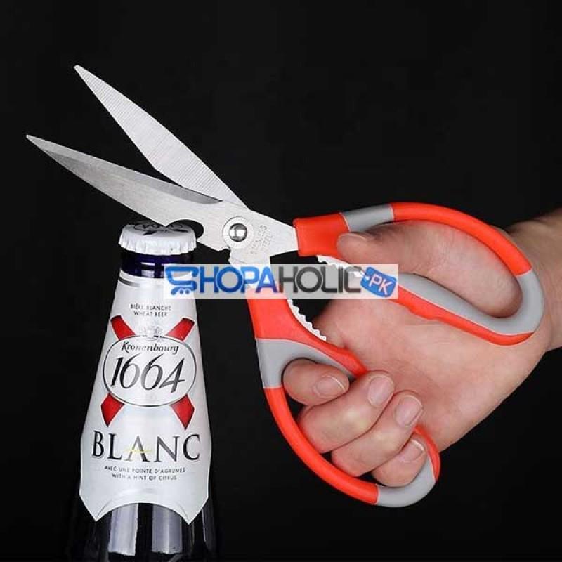 (One Dollar Deal) 3 In 1 Multipurpose Kitchen Scissor