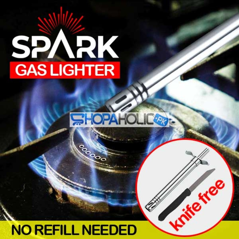 Kitchen Gas Lighter with Knife