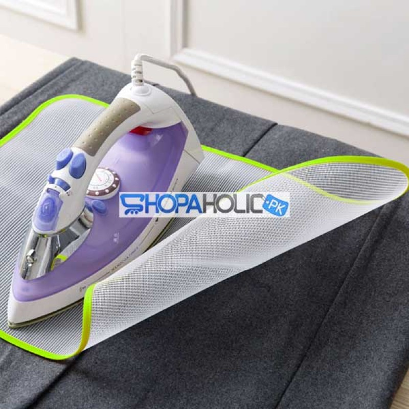 Pack of 2 (One Dollar Deal) Mesh Protective Ironing Cloth