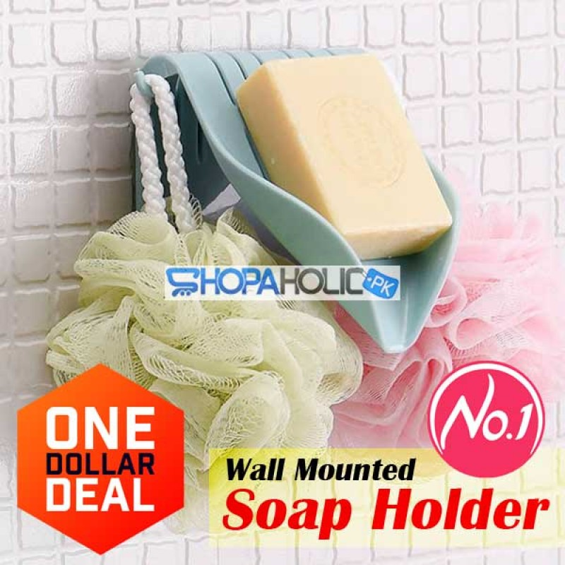 (One Dollar Deal) Wall Mounted Soap Holder