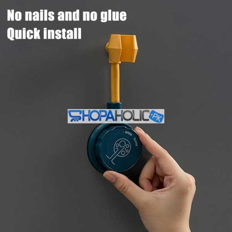 (One Dollar Deal) 360 Degree Universal Adjustable Bathroom Shower Holder