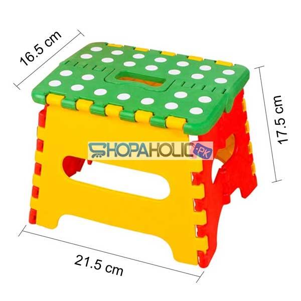 Foldable Folding Step Stool for Kids (Upto 7 Years)