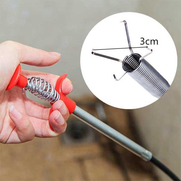 Sewer Picker Flexible Grabber Pickup Tool