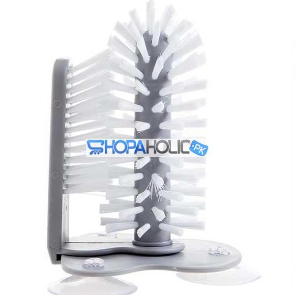 IN-SINK Dual Brush Glass Scrubber