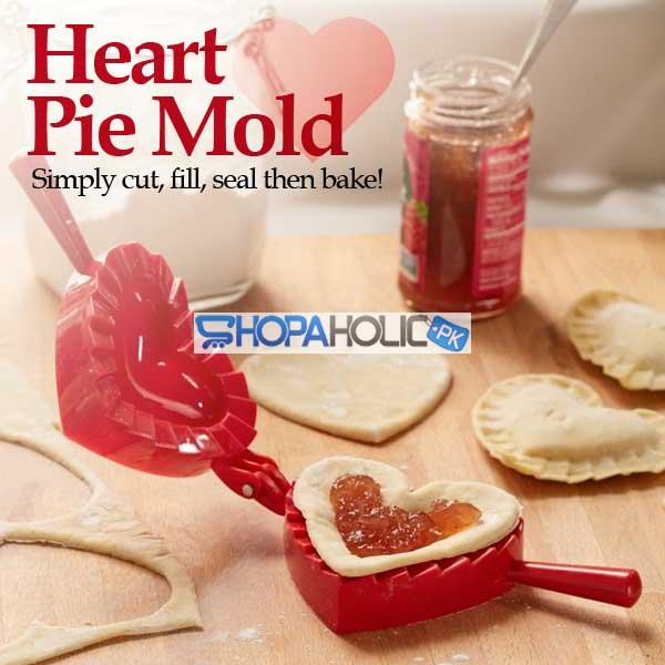 Heart Pie Mold