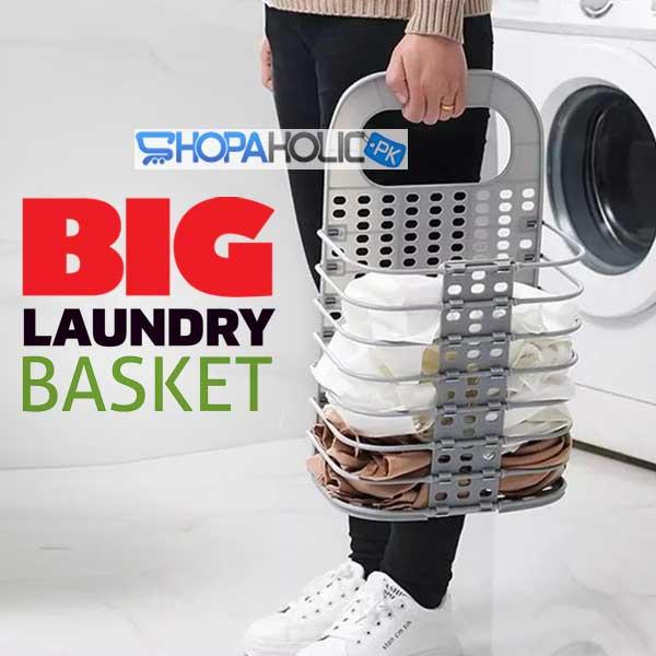 Wall Hanging Foldable Multifunctional Laundry Storage Basket