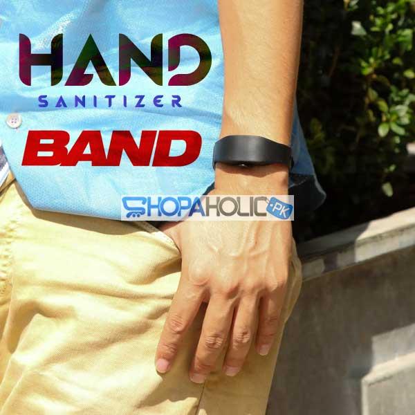 Refillable Hand Sanitizer Band - Black