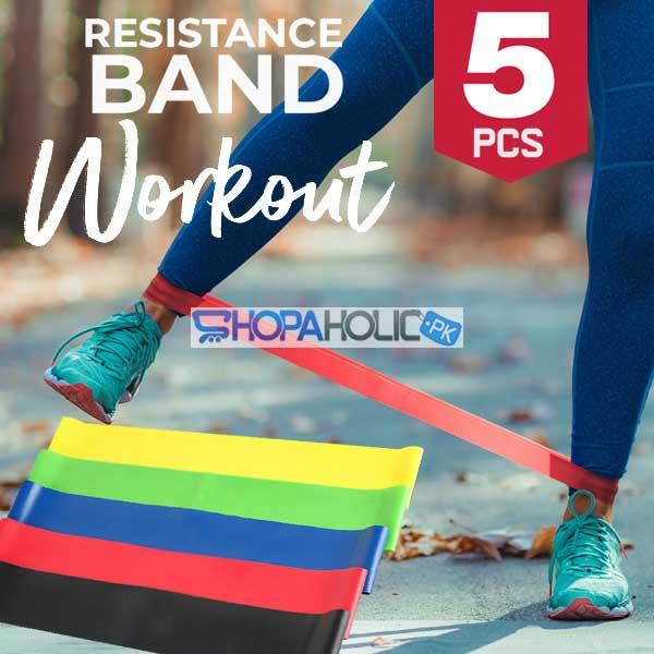 Exercise Strength Training Resistance Belt (Set of 5)