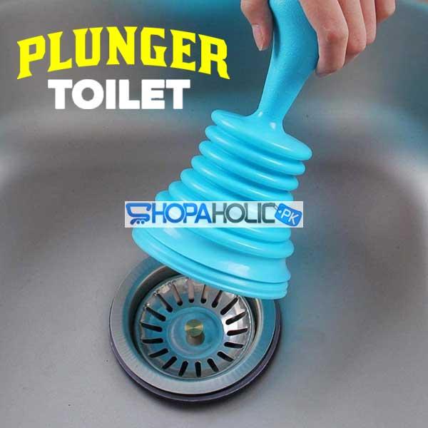 Smart Toilet & Sink Plunger