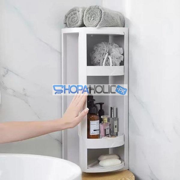Bathroom Rotating Organizer