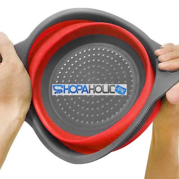 Silicone Collapsible Drain Washing Basket