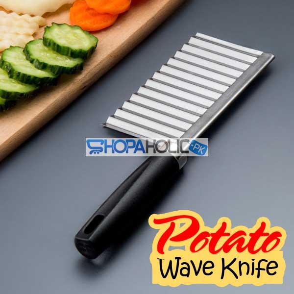 Potato Wave Knife